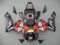 Fairings Honda CBR 600 RR Black Matte Valentino Rossi Moto Racing (2003-2004)
