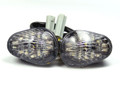 Front Indicators Flush Mount LED Turn Signals Yamaha YZF R1 (02-08), R6 (03-09), R6S (06-08) Clear