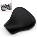Solo Leather Seat Pillon For Harley XL1200S XL 1200S Sportster (2005-2013) Black