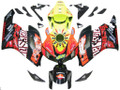 Fairings Honda CBR 1000 RR Black Yellow Valentino Rossi  Racing (2004-2005)