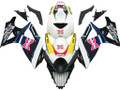 Fairings Suzuki GSXR 1000 Multi-Color Brux  Racing  (2007-2008)