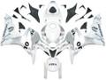 Fairings Honda CBR 600 RR Silver & White Repsol Racing (2007-2008)