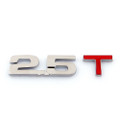 3D Emblem Badge Sticker Decal Chromed Metal 2.5T