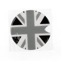Union Jack UK Flag Pattern Vinyl Sticker Decal Mini Cooper Gas Cap Cover