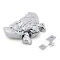 Aluminum 3D Winged Skull Horn Cover Harley Davidson V-Rod Sportster Dyna (1992-Up) Chrome
