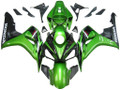 Fairings Honda CBR 1000 RR Green & Black CBR Racing (2006-2007)