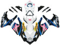 Fairings Suzuki GSXR 600 750 Multi-Color Brux Racing  (2008-2009-2010)