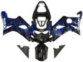 Fairings Suzuki GSXR 1000 Black & Blue Flame Racing  (2000-2002)