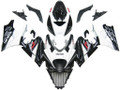 Fairings Suzuki GSXR 1000 Black & White GSXR Racing  (2007-2008)