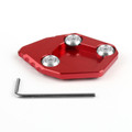 CNC Side Kickstand Stand Extension Plate Pad Honda CBR600RR F5 2007-2015 Red
