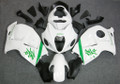 Fairings Suzuki GSX1300R Hayabusa White Green Research47 Racing  (1996-2007)
