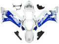 Fairings Suzuki GSXR 600 750 White & Blue Jordan  Racing  (2004-2005)