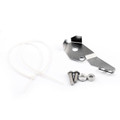 Sidestand Switch Protector Guard Cover Fit for BMW R1200GS LC/Adventure 13-18 Silver