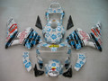 Fairings Honda CBR 600 RR Multi-Color Floral Racing (2003-2004)