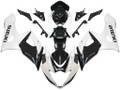 Fairings Suzuki GSXR 1000 White & Black GSXR Racing  (2005-2006)