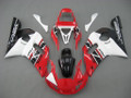 Fairings Yamaha YZF-R6 Red White Black R6 Racing (1998-2002)