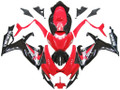 Fairings Suzuki GSXR 600 750 Red & Black GSXR  Racing  (2006-2007)