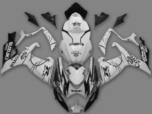 Fairings Suzuki GSXR 600 750 White Black Alstare Corona Racing  (2006-2007)