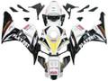 Fairings Honda CBR 1000 RR White & Black Playboy Racing (2006-2007)