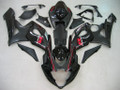 Fairings Suzuki GSXR 1000 Silver & Black GSXR Racing  (2005-2006)