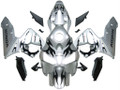 Fairings Honda CBR 600 RR Silver & Black Tribal Tatoo Racing (2003-2004)