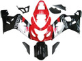 Fairings Suzuki GSXR 600 750 Red & Black GSXR Racing  (2004-2005)