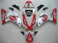 Fairings Yamaha YZF-R1 Silver Red Fortuna Racing (2000-2001)