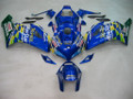 Fairings Honda CBR 1000 RR Blue Checker Movistar Racing (2004-2005)