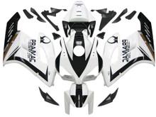 Fairings Honda CBR 1000 RR White Black Honda Racing (2004-2005)