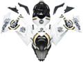 Fairings Suzuki GSXR 1000 White Black Gold Lucky Strike Racing  (2007-2008)