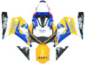 Fairings Suzuki GSXR 750 Yellow & Blue Corona GSXR Racing  (2000-2003)