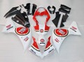 Fairings Plastics Yamaha YZF R1 Red White Lucky Strike Racing (2013-2014)