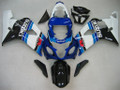 Fairings Suzuki GSXR 600 750 Blue White Black GSXR Racing  (2004-2005)