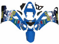 Fairings Suzuki GSXR 600 750 Blue Rizla GSXR Racing  (2004-2005)