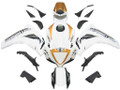 Fairings Honda CBR 1000 RR White & Gold Sport-Evo Racing (2008-2011)