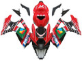 Fairings Suzuki GSXR 1000 Red Black No.77 GSXR Racing  (2007-2008)
