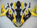 Fairings Suzuki GSXR 1000 Yellow & Black Racing  (2005-2006)