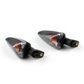 Front Rear Indicators Turn Signal Short Stalk Winker BMW S1000RR (2010-2014) Smoke