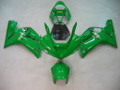 Fairings Kawasaki ZX6R 636 Green Ninja Racing  (2003-2004)