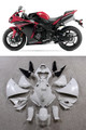 Fairings Plastics Yamaha YZF R1 Red Black R1 Racing (2013-2014)