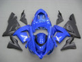 Fairings Kawasaki ZX 10R Blue Black  Ninja Racing (2004-2005)