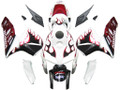 Fairings Honda CBR 600 RR White Black&Red Flame Racing (2005-2006)