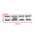 Car Trunk Rear Emblem Badge Letters C 300 C300 CDI CGI Kompressor Chrome Benz
