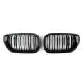 E46 Double Slots Kidney Grill for M3 316 318 320 323 325 328 330