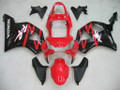 Fairings Honda CBR 954 RR Red and Black RR Racing (2002-2003)