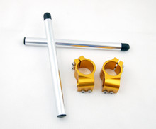 Clip-On 50MM Racer Handlebars Ducati Monster Series and 900 750 Sports (97-10), Gold