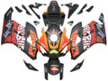 Fairings Honda CBR 1000 RR Black Orange Valentino Rossi  Racing (2004-2005)