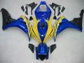 Fairings Honda CBR 1000 RR Blue Yellow CBR Racing (2006-2007)