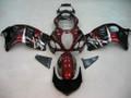 Fairings Suzuki GSX1300R Hayabusa Black & Red Hayabusa Racing  (1996-2007)