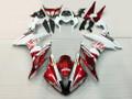 Fairings Yamaha YZF-R1 Red White FIAT Racing (2004-2006)